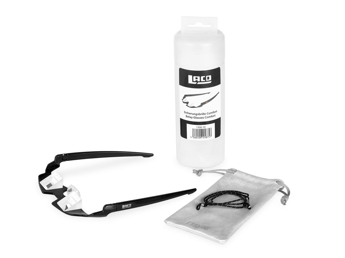 LACD Belay Glasses Comfort 2.0 Sicherungsbrille - black 0pHyFB